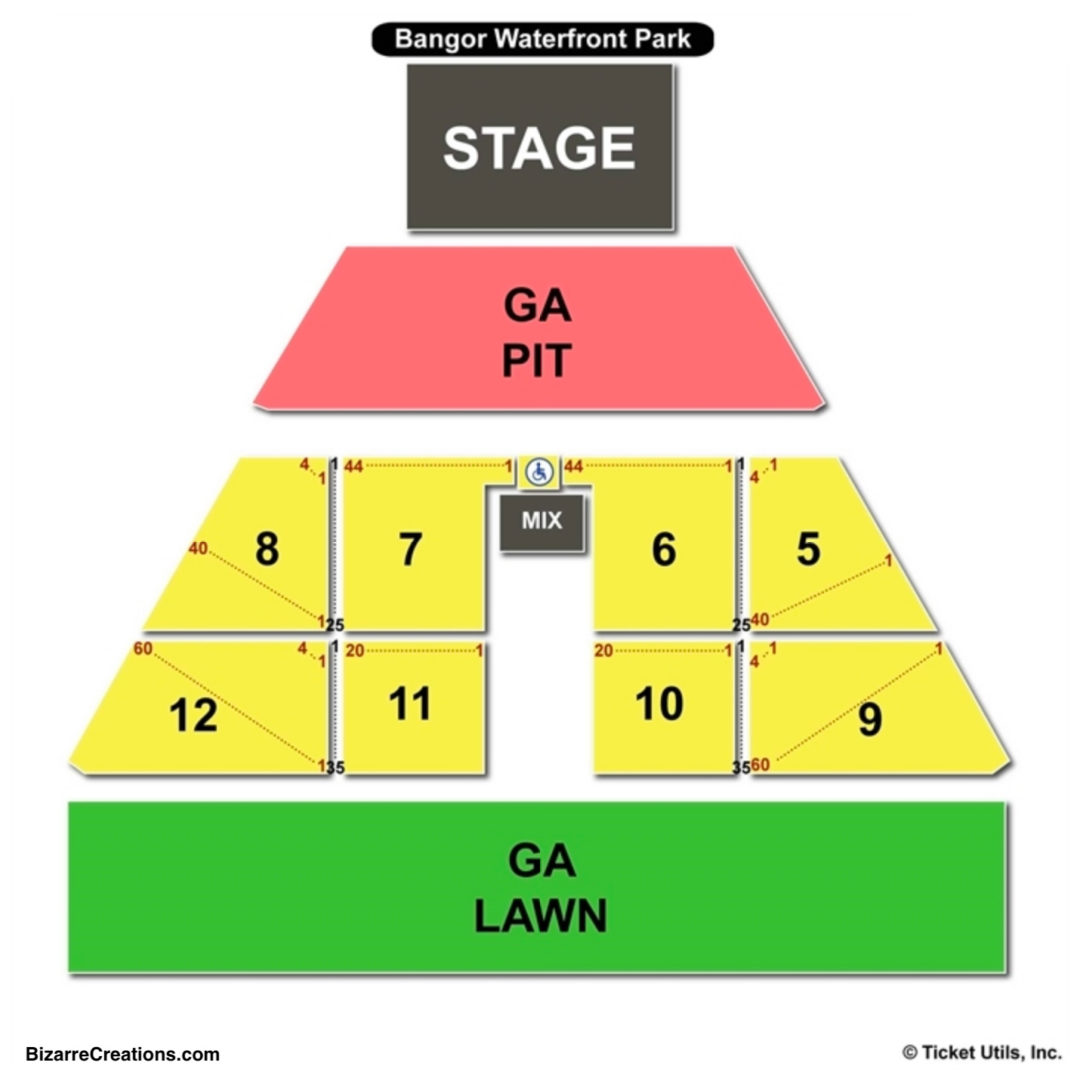 Darling S Waterfront Pavilion Seating Chart Charts Tickets
