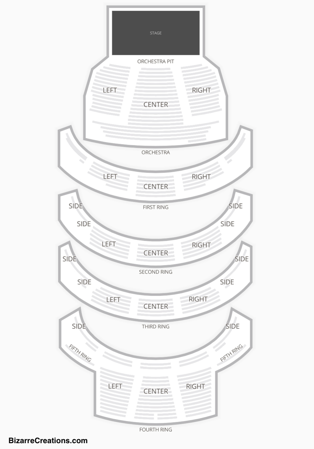 David H Koch Theater Seating Chart Seating Charts Amp Tickets