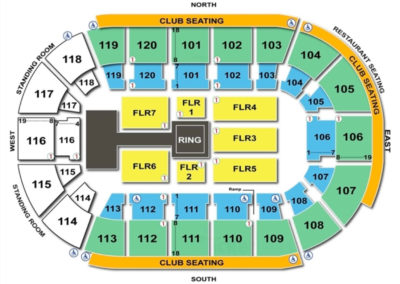 Germain Arena Seating Chart Seating Charts Amp Tickets