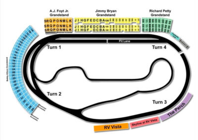 Ism Raceway Seating Chart Seating Charts Tickets