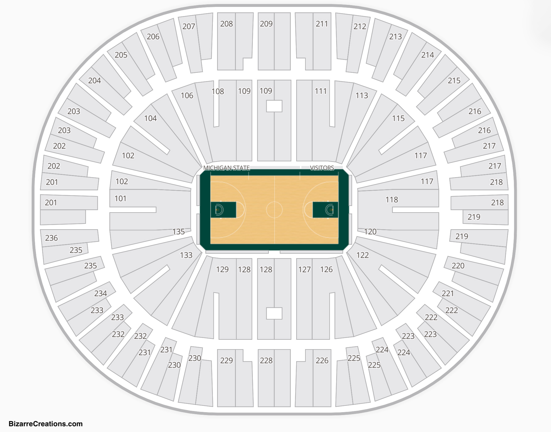 Jack Breslin Student Events Center Seating Chart Basketball