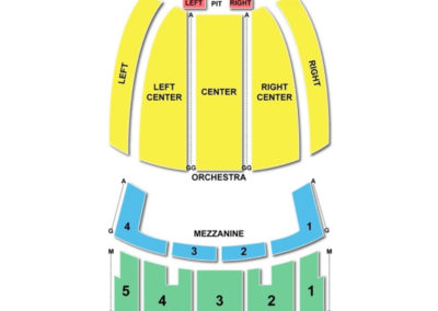 Johnny mercer theatre seating chart seating charts tickets