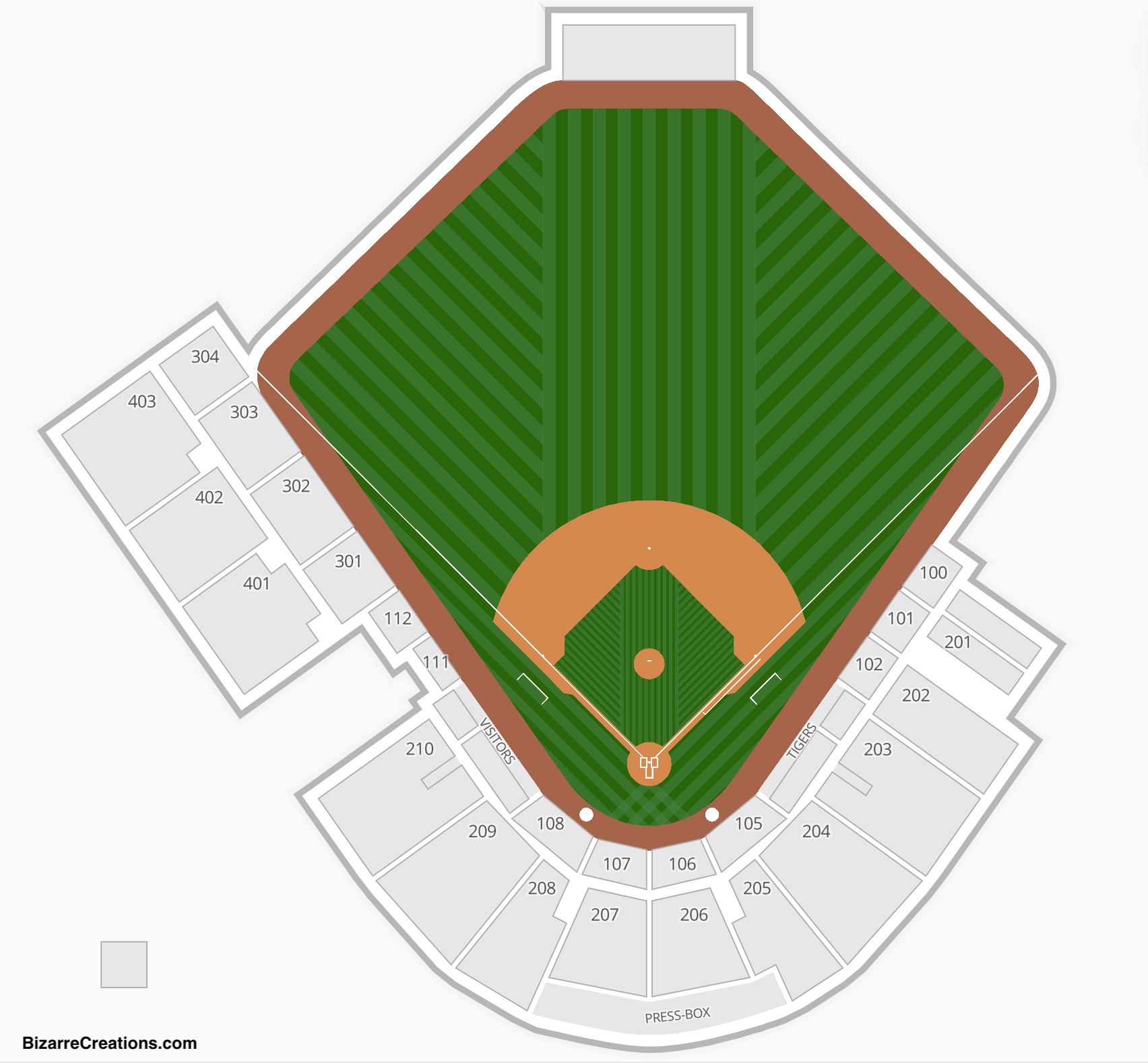 Publix field at joker marchant stadium seating chart seating