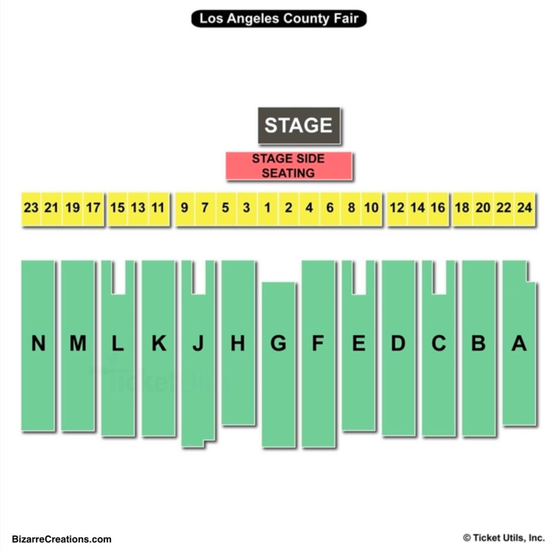 Los Angeles County Fair Seating Chart Seating Charts Tickets