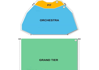 king center for the performing arts seating chart seating charts tickets. Black Bedroom Furniture Sets. Home Design Ideas