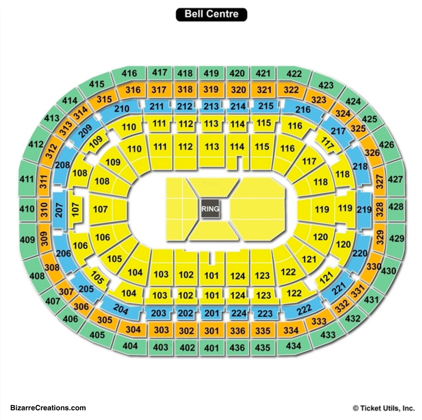 Molson Centre Seating Chart Seating Charts Tickets