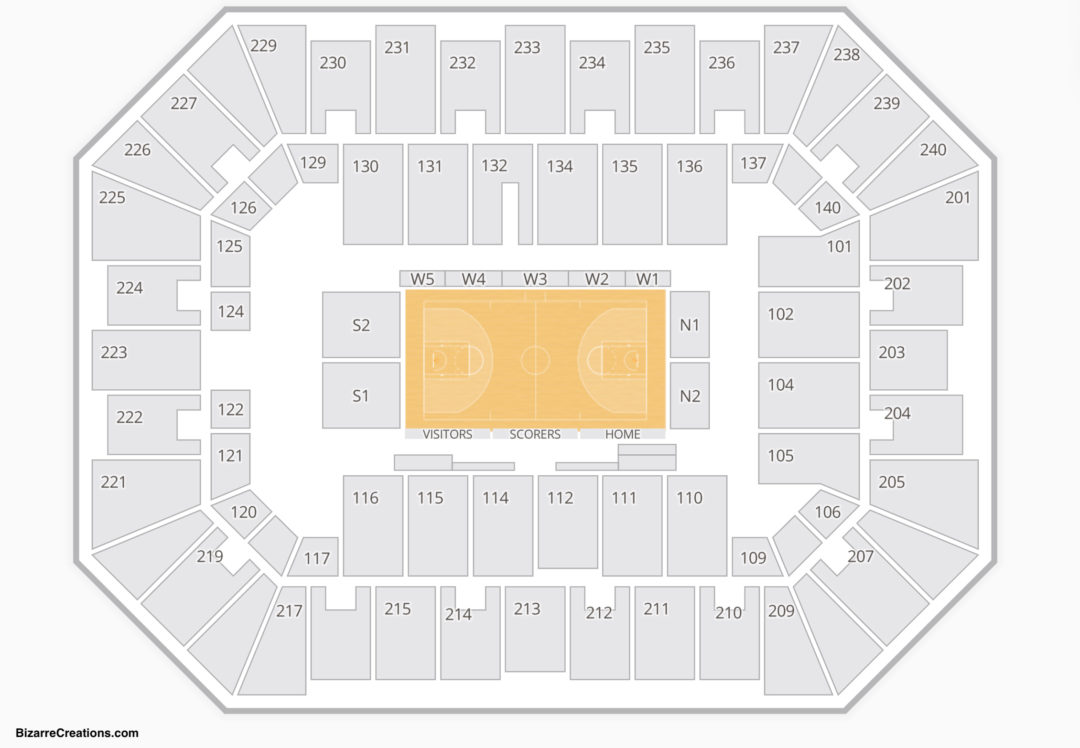 Raising Cane S River Center Arena Seating Chart Seating Charts Tickets