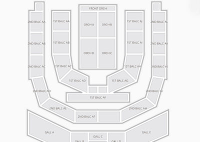 Township Auditorium Seating Chart Concert