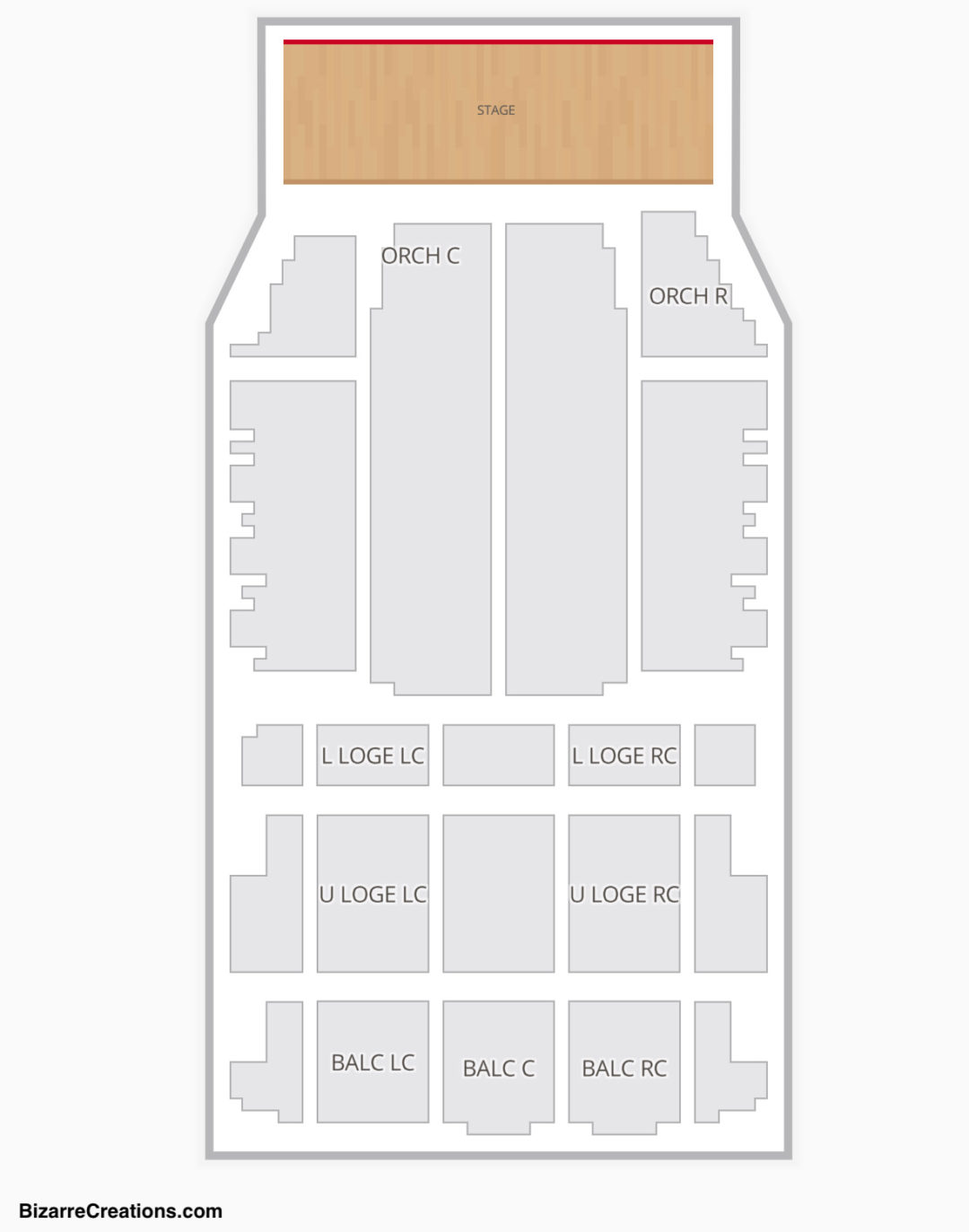 United Palace Theatre Seating Chart Concert