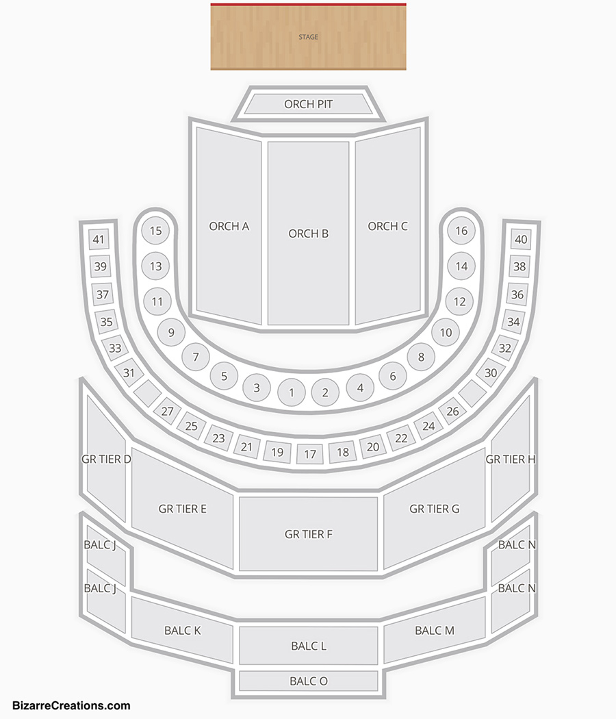 Brown Theatre Houston Seating Chart Seating Charts Tickets