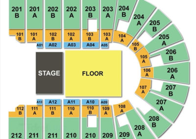 Columbus Civic Center Seating Chart Seating Charts Tickets