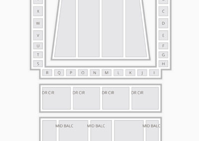 Detroit Symphony Hall Seating Chart Seating Charts Tickets