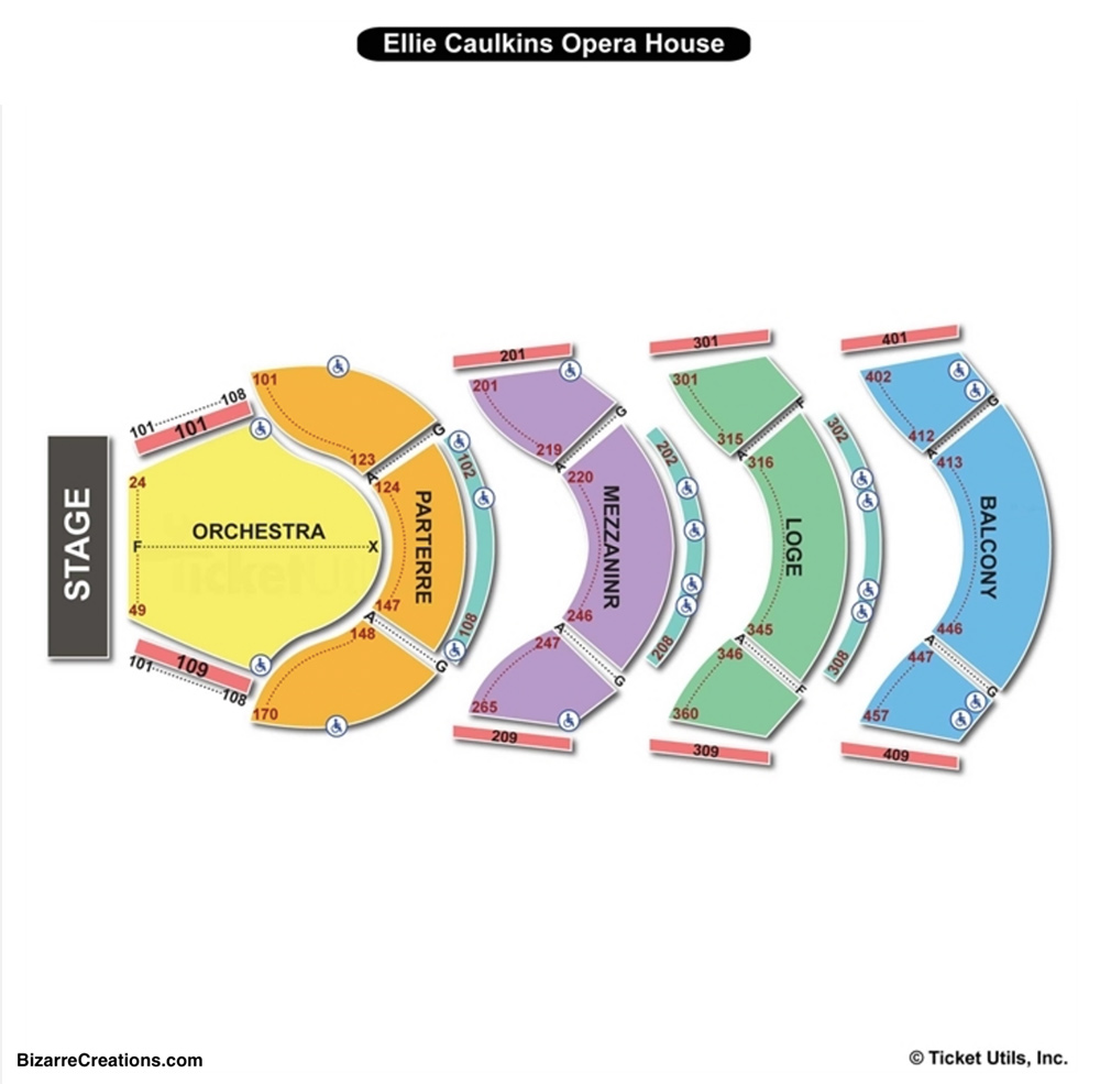 Ellie caulkins opera house seating chart seating charts tickets