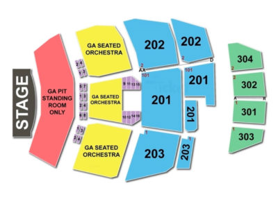 Ford Amphitheater At Coney Island Seating Chart Concert