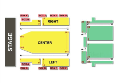 Lincoln Theatre Dc Seating Chart