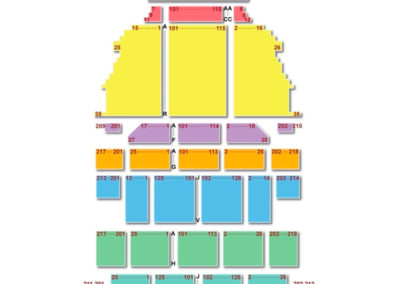 New York City Center Stage 2 Seating Chart