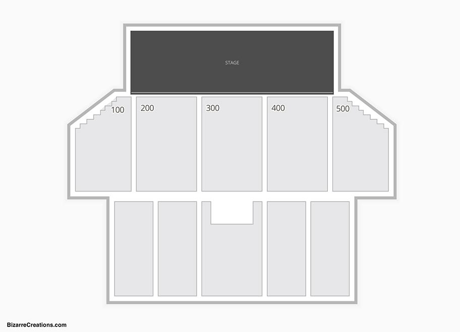 The Borgata Event Center Seating Chart