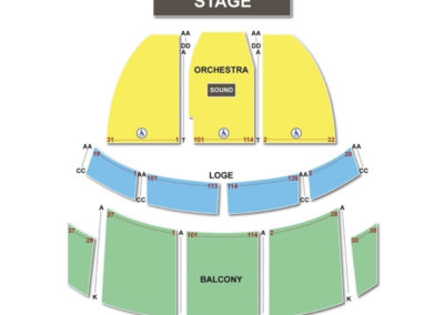 The capitol theatre port chester seating chart seating charts