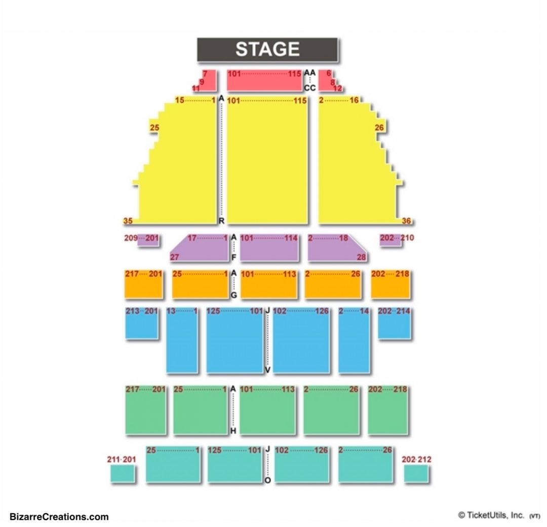 York City Center Seating Chart Seating Charts Amp Tickets